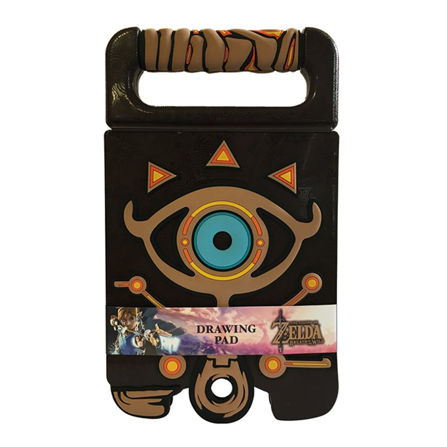 Carnet De Dessin Zelda Breath Of The Wild Sheikah