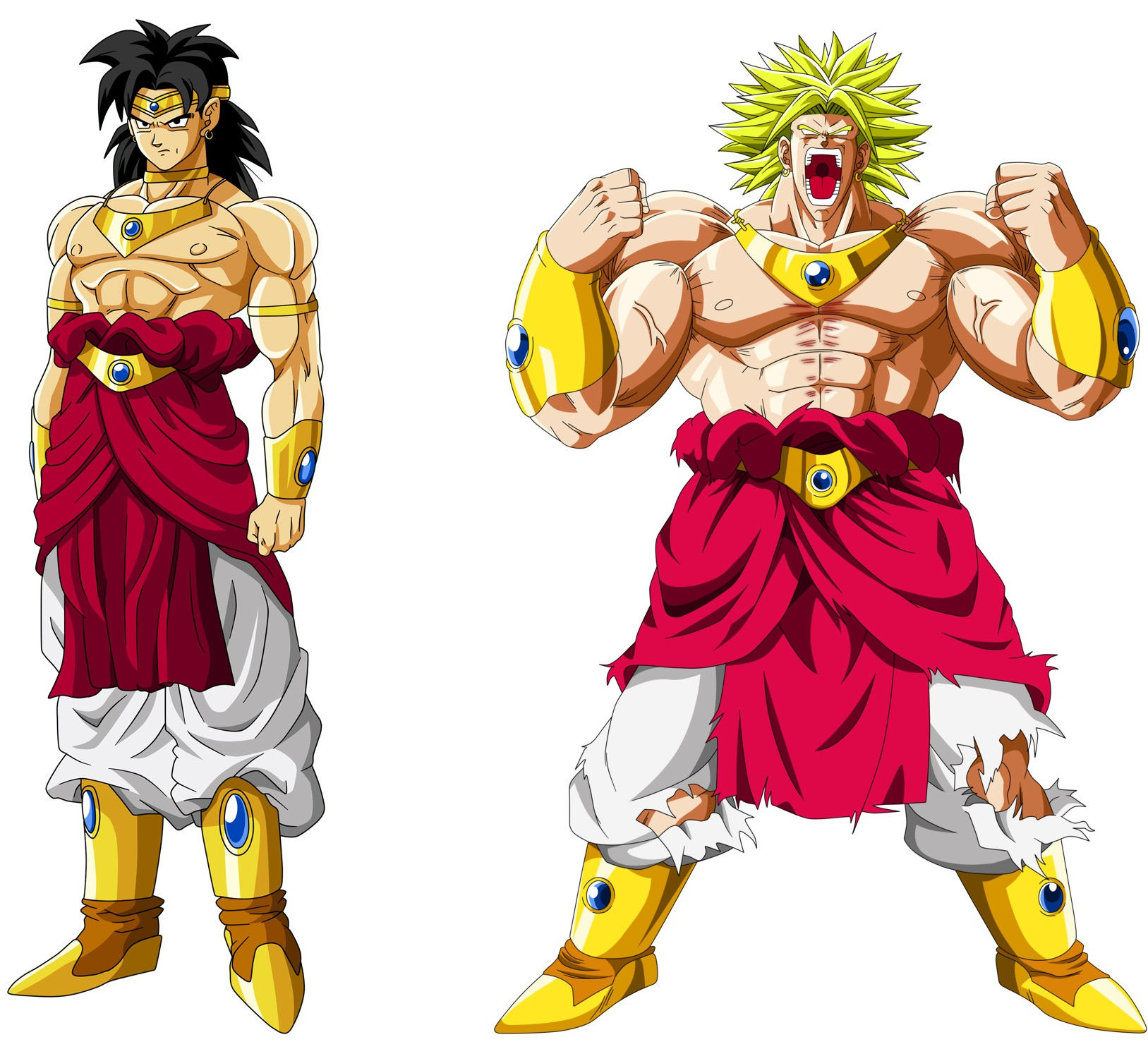 Broly le nouveau film dragon ball super s annonce grandiose - Sayen legendaire ...